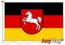 LOWER SAXONY  ANYFLAG RANGE - VARIOUS SIZES